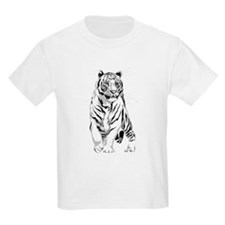 Stately White Tiger T-Shirt