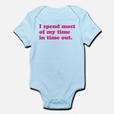 Girl Time Out Infant Bodysuit