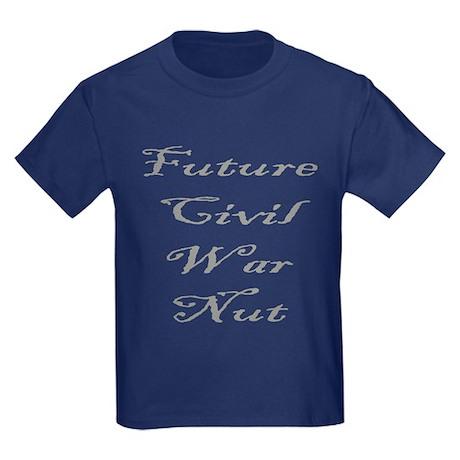 Future Civil War Nut Kids Dark T-Shirt