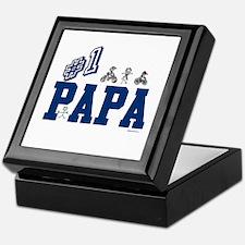 #1 Papa Keepsake Box