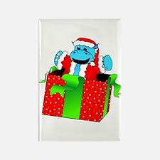 I Want A Hippopotamus For Christmas Rectangle Magn