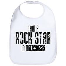 Rock Star In Micronesia Bib