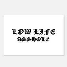 Lowlife Asshole Postcards (Package of 8)