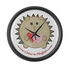 Hedgie Large Wall Clock