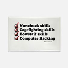 Skills Checklist ~ Rectangle Magnet