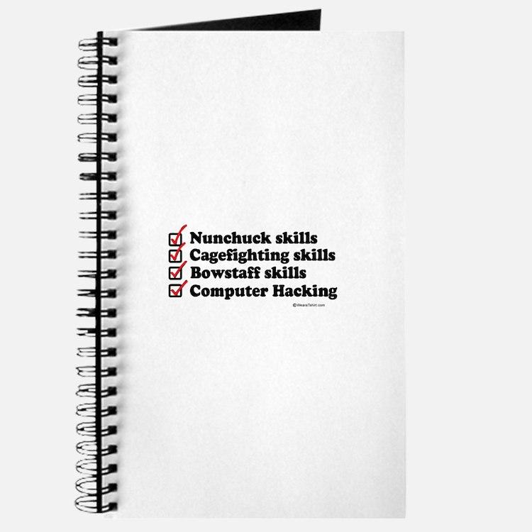 Skills Checklist ~ Journal
