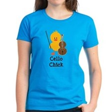 Cello Chick Tee
