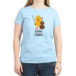 Cello Chick Women's Light T-Shirt