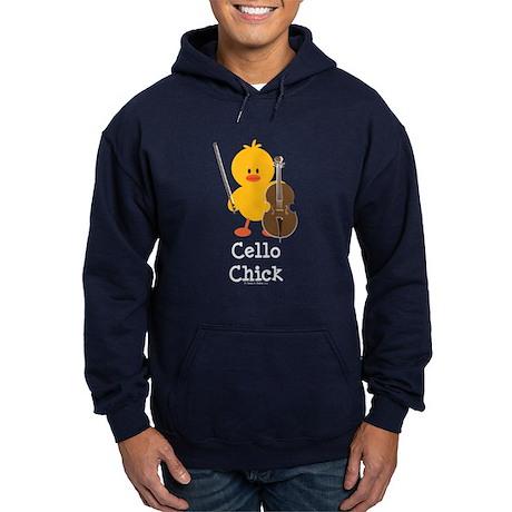 Cello Chick Hoodie (dark)