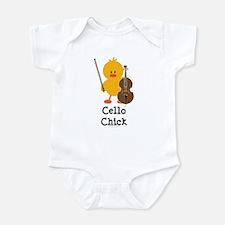 Cello Chick Onesie
