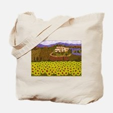 Cute Flower field Tote Bag