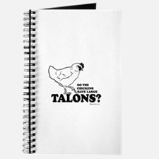 Do the chickens have large talons? Journal