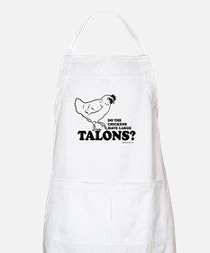 Do the chickens have large talons? BBQ Apron