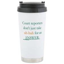 Uh-huh Travel Mug
