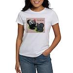 Cochin Rooster & Hen Women's T-Shirt