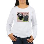 Cochin Rooster & Hen Women's Long Sleeve T-Shirt