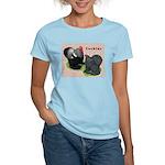Cochin Rooster & Hen Women's Light T-Shirt