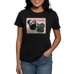 Cochin Rooster & Hen Women's Dark T-Shirt