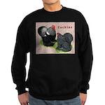 Cochin Rooster & Hen Sweatshirt (dark)