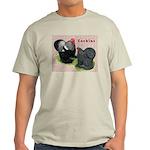 Cochin Rooster & Hen Light T-Shirt