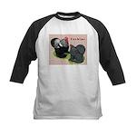 Cochin Rooster & Hen Kids Baseball Jersey