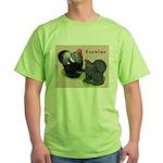 Cochin Rooster & Hen Green T-Shirt