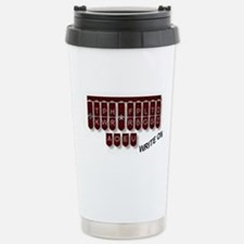Write On! Stainless Steel Travel Mug