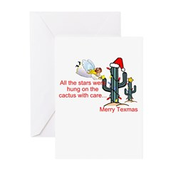 Christmas Cactus Greeting Cards (Pk of 10)