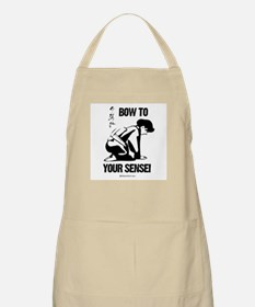 Bow to your Sensei ~  BBQ Apron