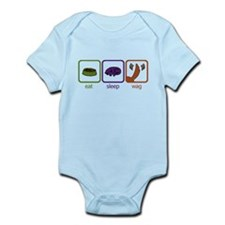 Eat Sleep Wag Infant Bodysuit