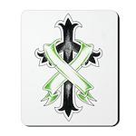 Bannered Cross Mousepad