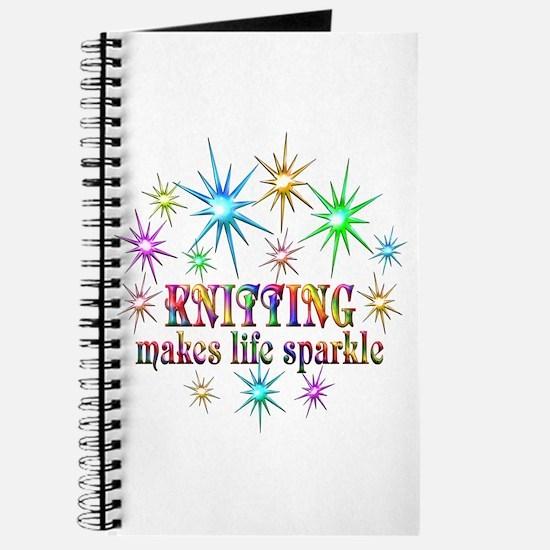 Knitting Sparkles Journal