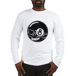 Skull Eight Ball Long Sleeve T-Shirt