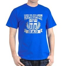 World's Greatest Greek Dad T-Shirt