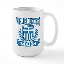 World's Greatest Greek Mom Mug