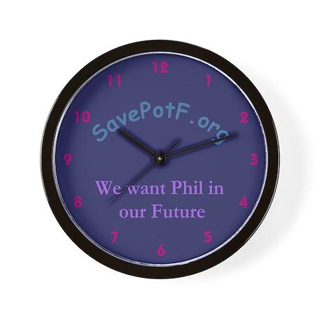 Save Phil Wall Clock