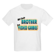 Trade Brother Video Games Kids T-Shirt