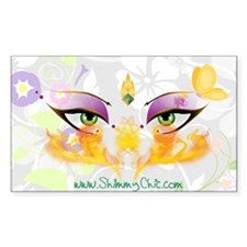 Belly Dance Shimmy Chic Decal