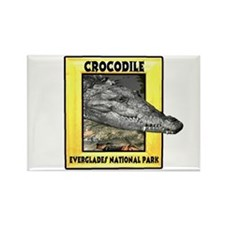 Everglades National Park Croc Rectangle Magnet