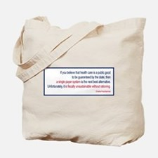 Krauthammer - Health Care Rat Tote Bag