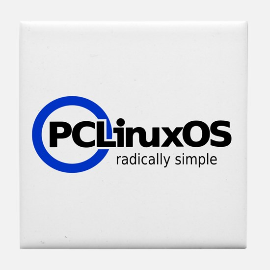 Cute Pclinuxos Tile Coaster