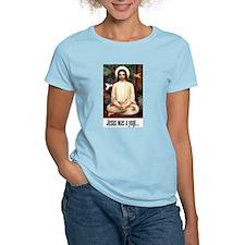 Women's Pink T-Shirt: Jesus was a Yogi