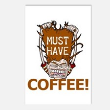 Must Have Coffee Postcards (Package of 8)