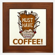 Must Have Coffee Framed Tile