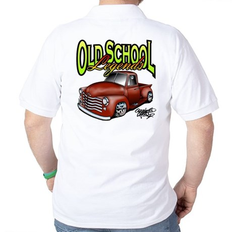 Old School Legends '53 Chevy Pickup Golf Shirt