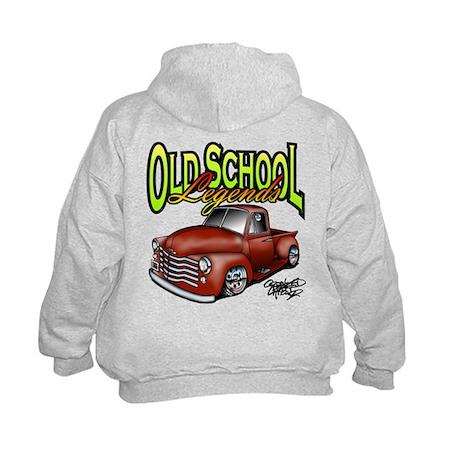Old School Legends '53 Chevy Pickup Kids Hoodie