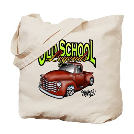 Old School Legends '53 Chevy Pickup Tote Bag