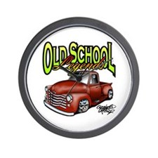 Old School Legends '53 Chevy Pickup Wall Clock
