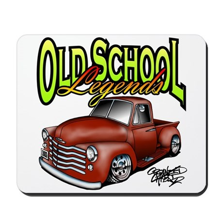 Old School Legends '53 Chevy Pickup Mousepad