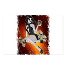 Goth Girl Postcards (Package of 8)